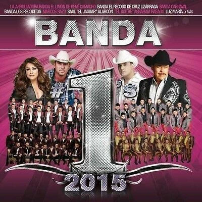 Banda #1's 2015 - Various Artist (2016, CD New)