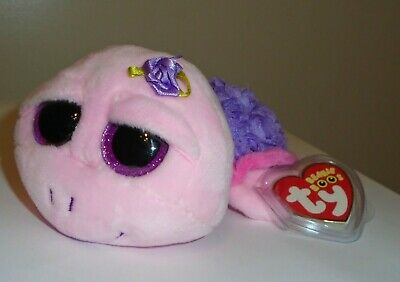 TY BEANIE BOOS ~ SANDY the Turtle 6