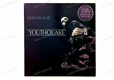 Dead Or Alive - Youthquake NL LP 1985 + Innerbag //2