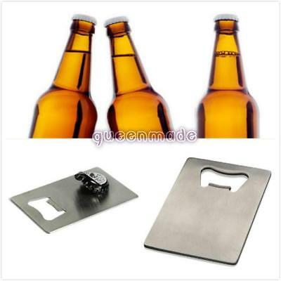 Pocket Credit Card Beer Bottle Cap Opener Small Thin Sized For Your Wallet Q