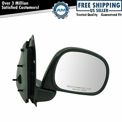 Manual Black Mirror RH Right Passenger Side for Ford Pickup Truck F250 F150