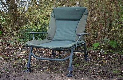 Sonik Sports NEW SKS Carp Fishing Strong Session Hi-Legs Padded High Armchair