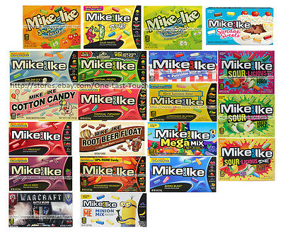 MIKE AND IKE* Box CHEWY Flavored Candies FRUIT JUICE Candy *YOU CHOOSE* x.11/17+
