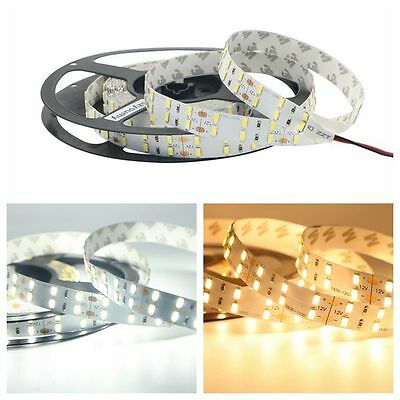 LED Flexible Strip Light 5630 Double Row SMD 120leds/m 12V DC 5M/roll Rope Lamp