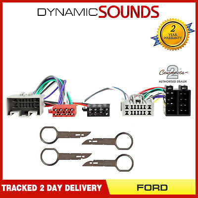 CT10FD08 Parrot SOT T Harness Adaptor Wiring Loom Lead For FORD Fiesta 2008-2010