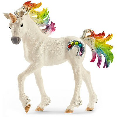 Schleich Bayala Rainbow Unicorn, Foal Figure NEW