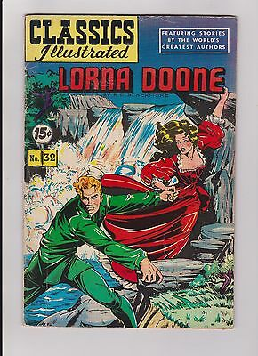 Classics Illustrated Lorna Doone #32 HRN 85