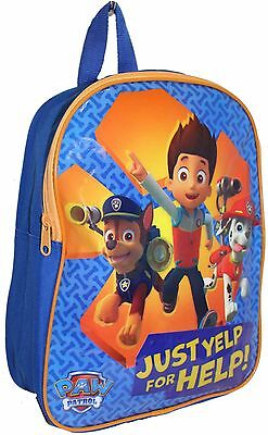 """Official Licensed 17"""" Paw Patrol Childrens Backpack Childs Paw Patrol School Bag"""