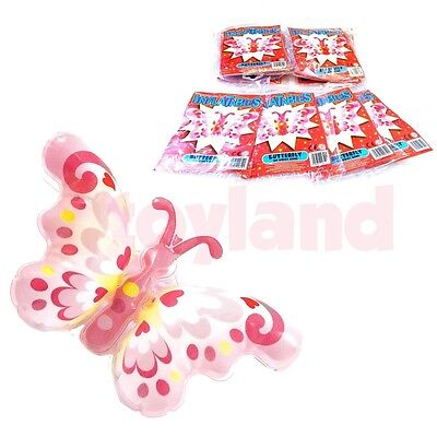 12  Inflatable Butterfly Bracelet Toy Christmas Fair Party Stocking Filler