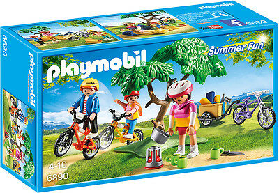 "PLAYMOBIL® 6890  "" Mountainbike-Tour  "", NEU & OVP"