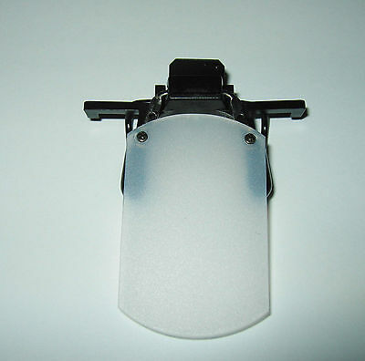 Clip-on Eyeshield ISSF Approved 30mm Frost White