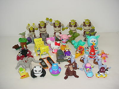 Lot of 38 TV Movie Character Toys Action Figures Childrens Kids