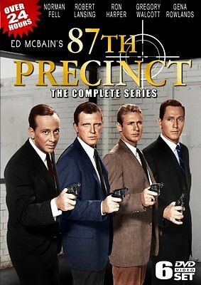 ED MCBAIN'S 87TH PRECINCT THE COMPLETE SERIES New Sealed 6 DVD Set