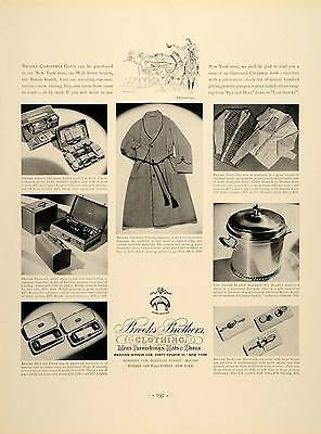 1937 Ad Brooks Brothers Clothing Hats Shoes Newbury - ORIGINAL ADVERTISING FTT9
