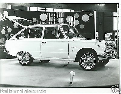 Mitsubishi Colt 1000 F Original Motor Show Photograph 1966 Mint Condition