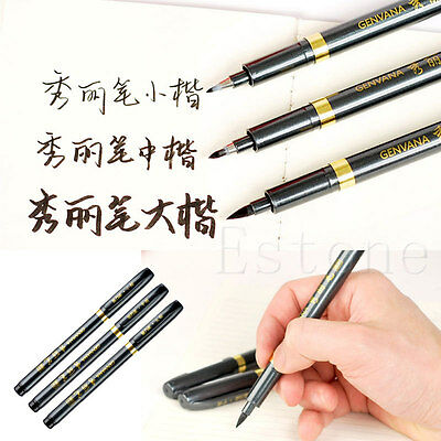 New Chinese Japanese Calligraphy Writing Script Art Painting Tool Brush Pen
