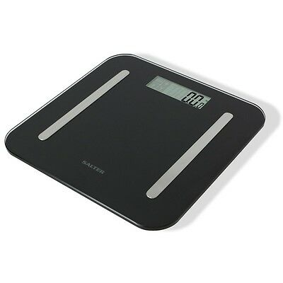 New Salter StowAWeigh Body Analyser Bathroom Scale