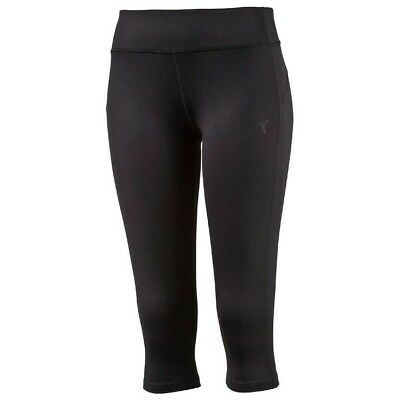 PUMA Damen kurze Hose WT Essentials 3/4 Tights Pants 512806 Fitnesshose