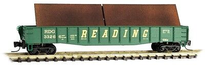 MTL #522 00 271 Z Scale Reading Gondola With Load Road #33266