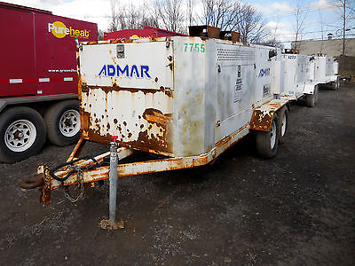2010 FLAGRO FV0-1000TR Indirect Fired Heater Diesel