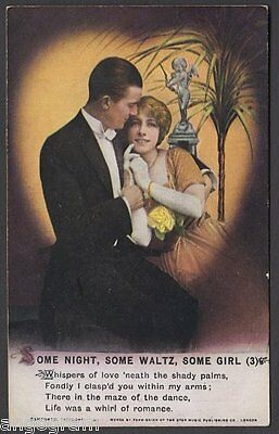 BAMFORTH SONG POSTCARD - Some Night, Some Waltz, Some Girl (3)