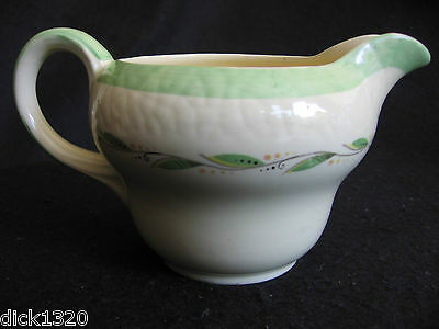 ART DECO NEW HALL POTTERY PATTERN #1092  CREAMER/MILK JUG  c.30's