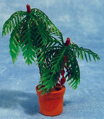 DOLLS HOUSE 1/12th SCALE POTTED PALM PLANT