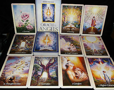Sealed & Brand New! Oracle Of The Angels Oracle Cards & Book Healing Messages