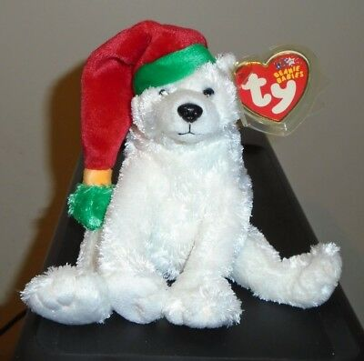 Ty Beanie Baby ~ SNOWDRIFT the Polar Bear ~ MINT with MINT TAGS ~ RETIRED