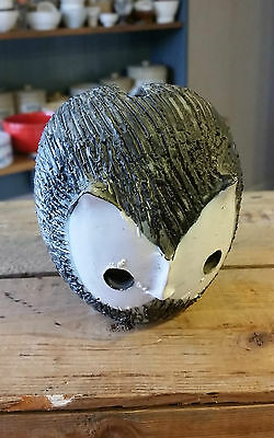 Vintage Briglin Studio Pottery Owl Money Box – Great!