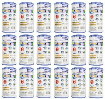 18 Pack Genuine Intex Pool Easy Set Filter Cartridge Type A 29000E 530 1000 1500