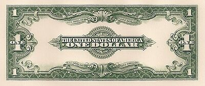 Proof Print by the BEP - Back of 1923 One Dollar U. S. Note