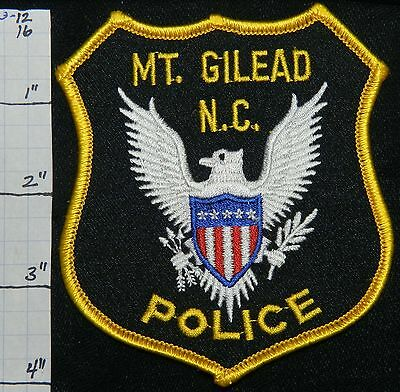 North Carolina, Mt. Gilead Police Dept Patch