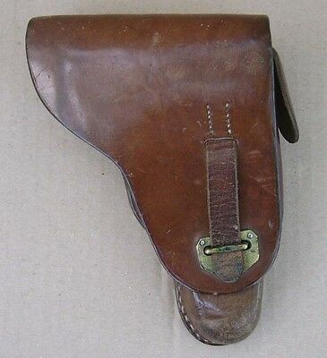 Original WWII Royal Bulgaria officer pistol holster CZ27 or Walther PP