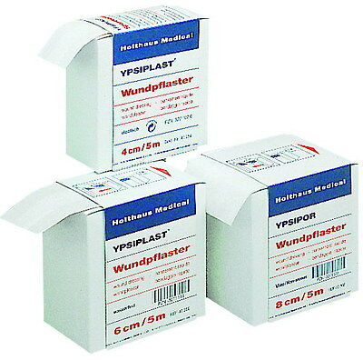 Holthaus Medical Wundschnellverband Pflaster Wundpflaster  4 Cm X 5 Meter  Box