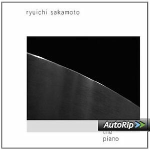 Ryuichi Sakamoto - Playing The Piano  Cd