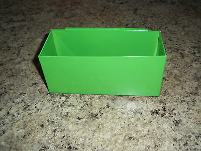 GREEN DEEP DRAWER SAFETYGLASSES SPECIAL TOOL SMALL PARTS TRAY snap 2 use on side