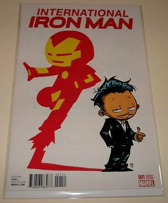 INTERNATIONAL IRON MAN # 1 Marvel Comic  2016   NM  SKOTTIE YOUNG VARIANT COVER