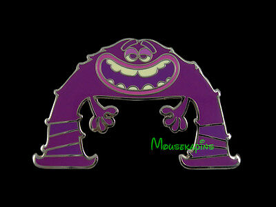 MAJORING in SCARING it's ART from Monsters University Disney 2014 Mystery Pin