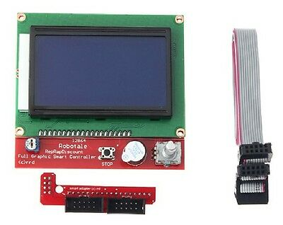 3D Printer Reprap RAMPS 1.4 12864 LCD display controller with adapter CHIP 78