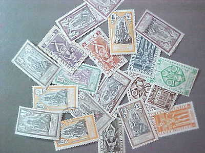 20 Different French India Collection - Lot