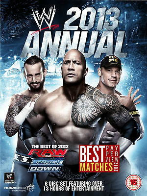 WWE Annual 2013 Best Of Raw And Smackdown & PPV Matches 2012 6x DVD DEUTSCH