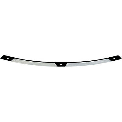 Klock Werks Black Contrast Landing Flare Windshield Trim on 96-13 Harley Touring