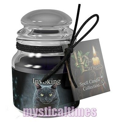 New * Spell Candle * For  Invoking - Dragons Blood Lisa Parker Jar Candle