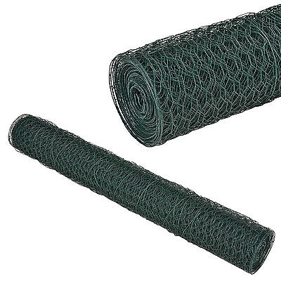 [pro.tec] Wire mesh Fence Fence 1m x 25m Hexagon Mesh Rabbits Wire Grid fence