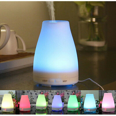 120ml Home Essential Oil Diffuser for Aromatherapy Cool Mist Aroma Humidifier