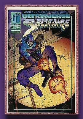 Solitaire *1993-94 *books 1 Thru 4 *nm/mint *malibu Ultraverse *shipped Boxed