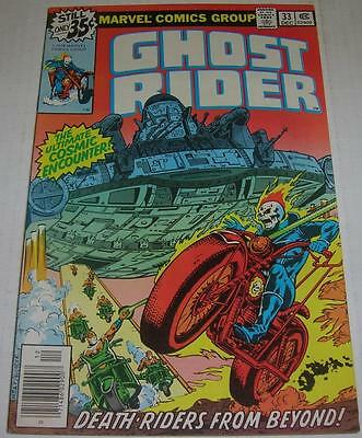 GHOST RIDER #33 (Marvel Comics 1978) DEATH-RIDERS FROM BEYOND (FN+)
