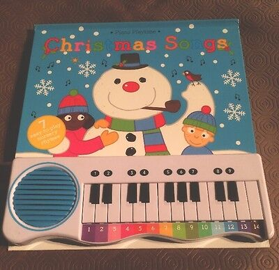 Piano Playtime Christmas Songs  Book with Keyboard Music and Words