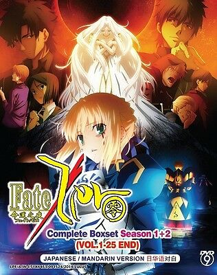 FATE ZERO Box Set | S1+S2+ST | Eps. 01-25 | English Subs | 3 DVDs+CD (GM0299)-LU